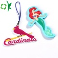 Personalized PVC Cartoon Animal Silicone Key Rings