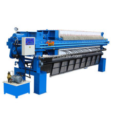 Food Standard Starch Cast Iron Filter Press Hydraulic