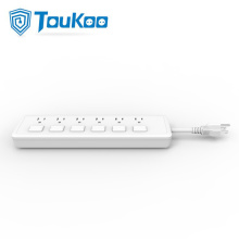 OEM/ODM Manufacturer for Power strip with individual switches, with overload protector, with or w/o USB charging ports, Multi outlet extension cord manufacturer. Power strip with individual switches 6 outlet export to Japan Factories