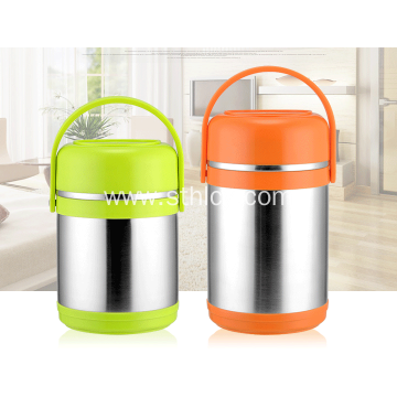 Stainless Steel Double Insulated Non-magnetic Lunch Box