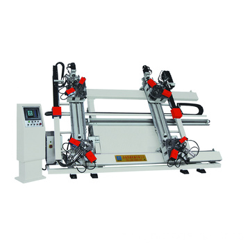 cnc four-head corner crimping machine