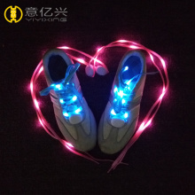 Colored target cool LED shoelaces for adults