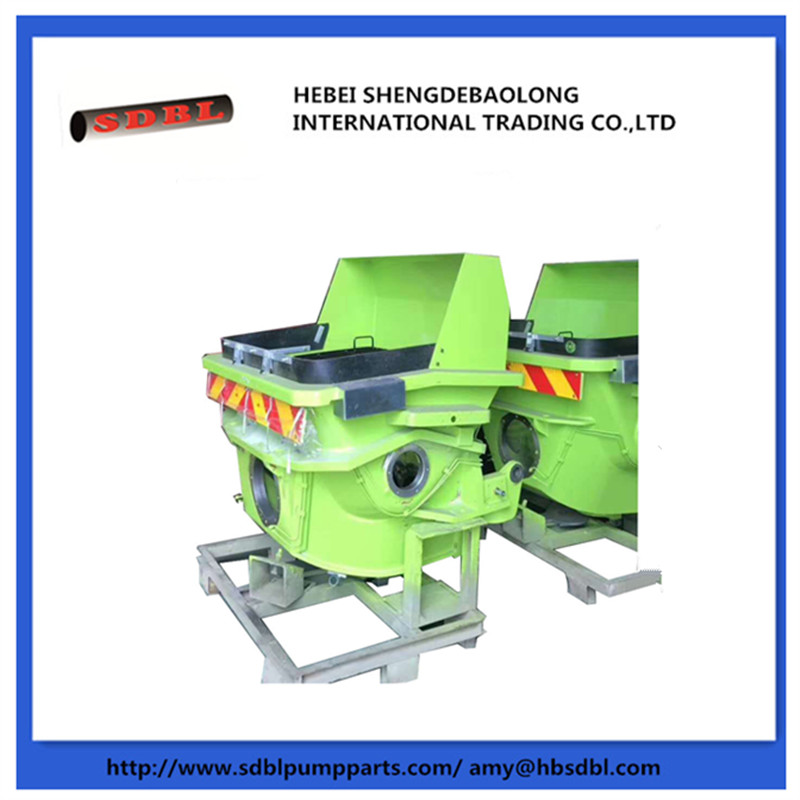 Zoomline Concrete Pump Hopper