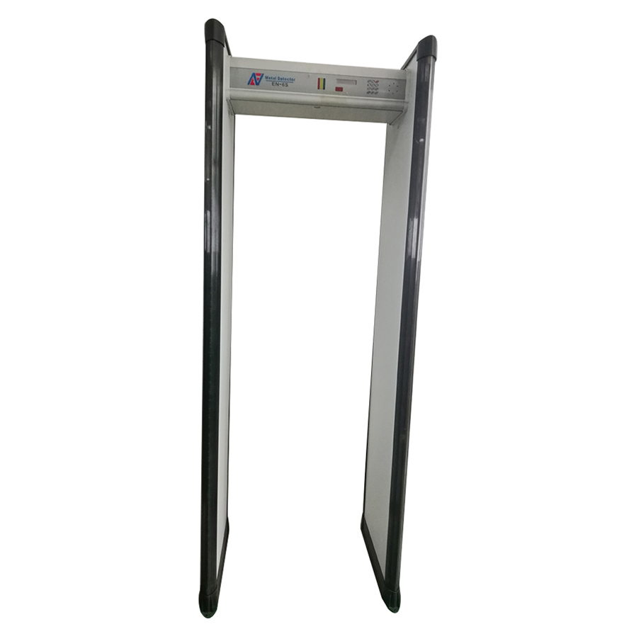 high quality outdoor walk through metal detector