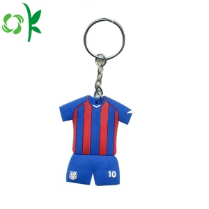 Custom Souvenir Uniforms PVC Silicone Key Accessories