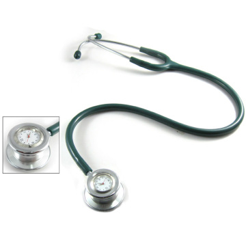 Stethoscope with clock