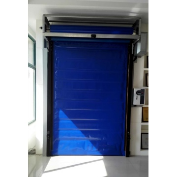 Cold storage freezer sliding rapid door