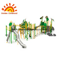 Outdoor Natural Forest Playground Combination For Children