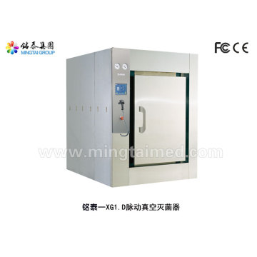 Hospital pulsating vacuum sterilizer