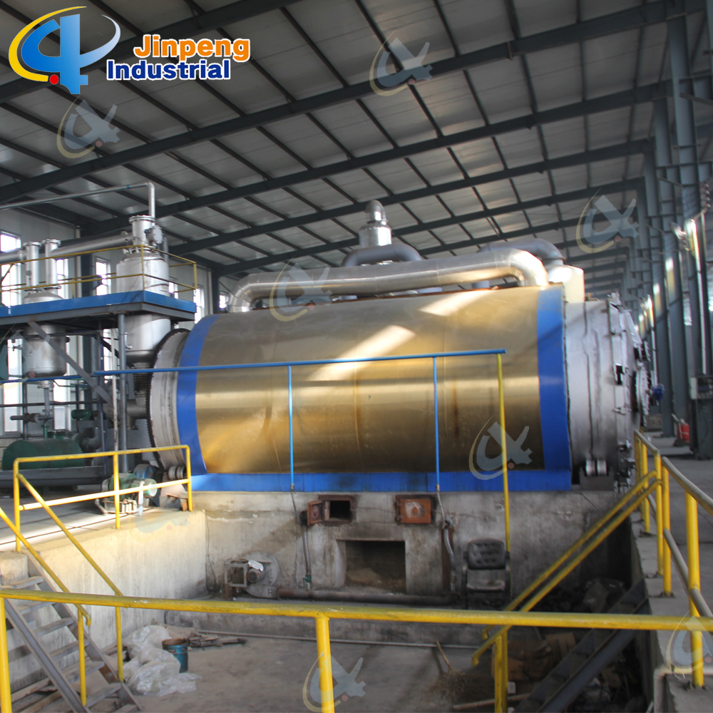 Waste Rubber Oil Recycling Plant