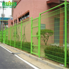 hot dipped galvanized brc fence for pedestrian zone