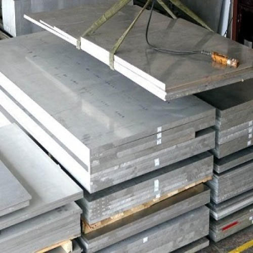 Aluminium extrusion flat bar 7005 T6