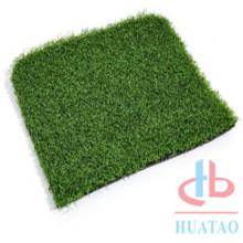 Quick drainage curled blade artificial turf