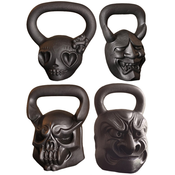 Animal Face Kettlebells10