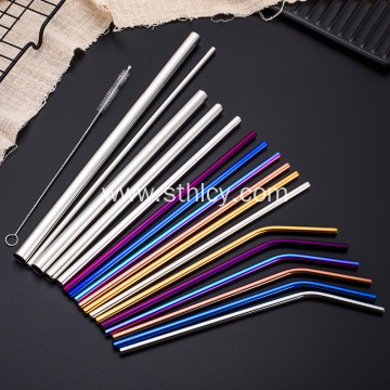 Reusable Stainless Steel Straws With Customized Logo