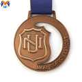 Bronze metal university design custom medal