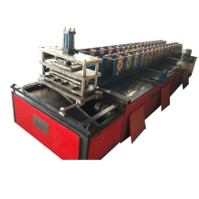 Color steel sheet single plate roll forming machine