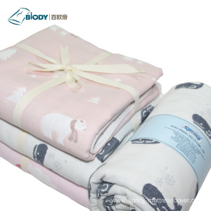 Manufacturer of for Grey Baby Blanket Custom Organic Baby Heated Multilayer Blanket supply to India Suppliers