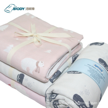 Custom Organic Baby Heated Multilayer Blanket