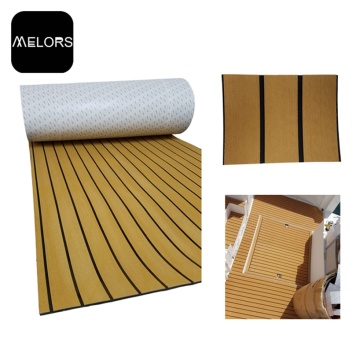 Melors Faux Teak Swim Deck Pad Synthetic Flooring