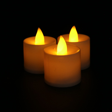 High  quality rechargeable electric tealight led candle