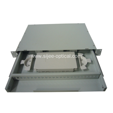 Low Cost for Fiber Optical Patch Panel Sliding Drawer Type Fiber Optic Patch Panel export to Cambodia Factories
