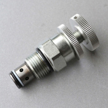 Hydraulic One-Way Throttle Cartridge Valves