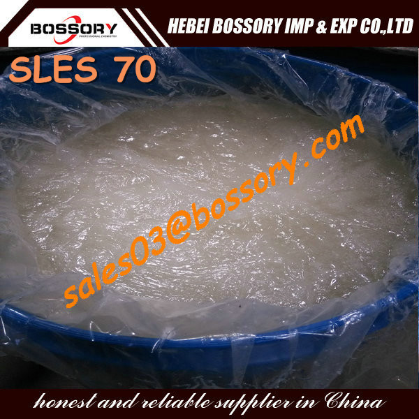 Raw Material for Shampoo SLES 70%