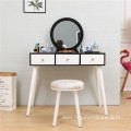 Living room furniture Vanity Makeup Table Set mirrored dressing table