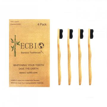 Family Bamboo Toothbrush With Private Label