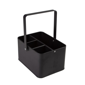 Picnic caddy utensil holder