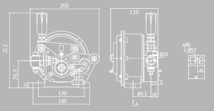 Panasonic Type Wire Feeder Assembly