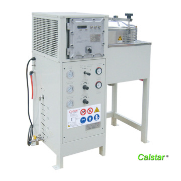 New Solvent recovery machine automatic work
