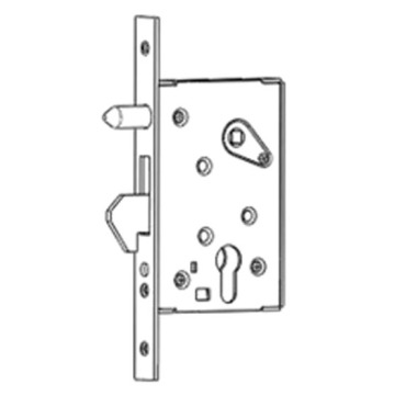 Factory Price for Hook Bolt Mortise Lock Hook bolt mortise lock with orientated pins supply to France Wholesale