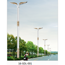 Renewable Design for  High Quality Two-arm Street Lamps export to Gibraltar Factory