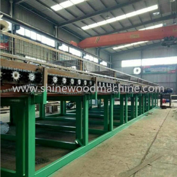 2 Deck Myanmar Biomass Roller Veneer Dryer
