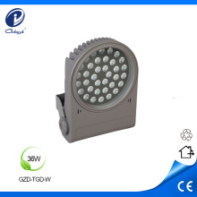 Hard aluminum 36W outdoor led flood luminaire