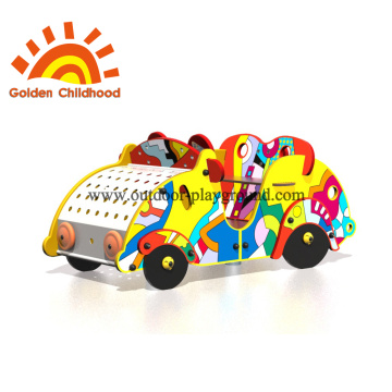 Colourful Car Outdoor Playground Equipment For Children