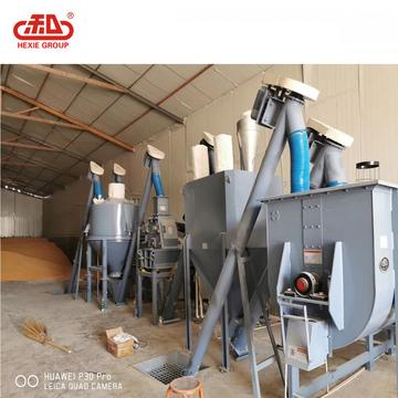 Mash feed production unit