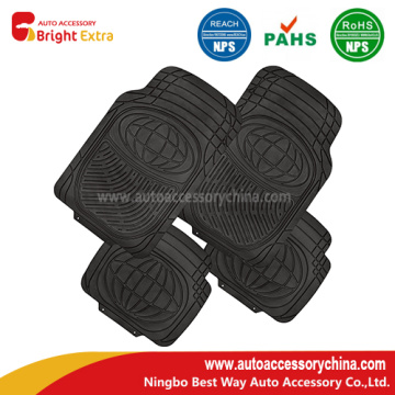 Car Interior Floor Mats Black