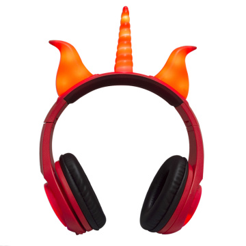 Rhino Ear lighting cute chilren creative headphone
