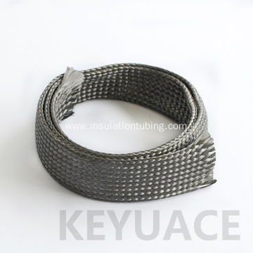 Braided Cable Cover Carbon Fibre Sleeve