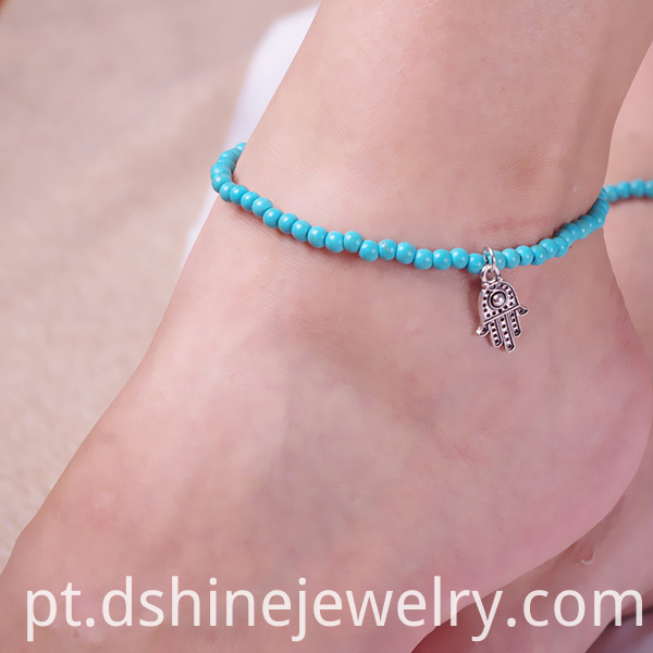 Ladies Beads Anklet Foot Bracelet