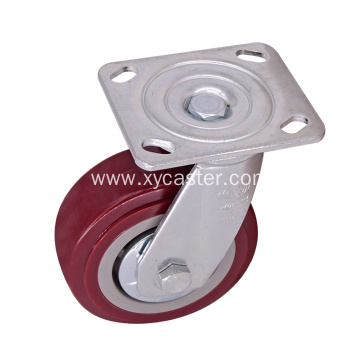 Heavy duty 5 Inch Swivel Plate Caster