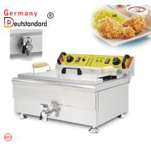Snack machine deep fryer machine for restaurant