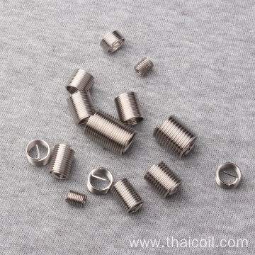 SS M8 plated wire thread inserts
