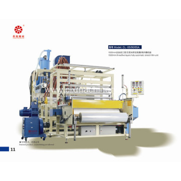 Automatic Co-Extrusion Clear Lldpe Wrapping Film Machine