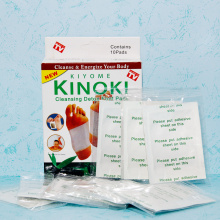 Good Quality for Kinoki Foot Pads Hot Selling Adhesive Bamboo Detox Foot Patch export to Germany Manufacturer