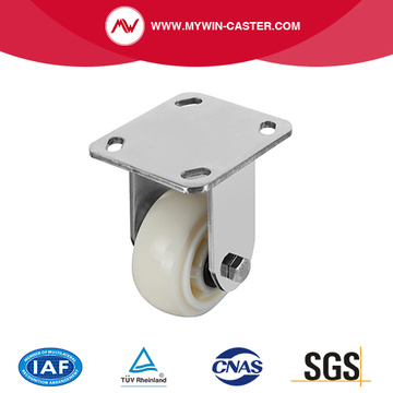 Plate Rigid PP Stainless Steel Caster