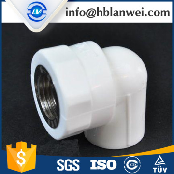 100% Original for PPR Pipe Fittings FEMALE THREADED PLASTIC TEE PPR PIPE FITTINGS supply to French Polynesia Factory